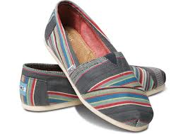 denim stripe toms