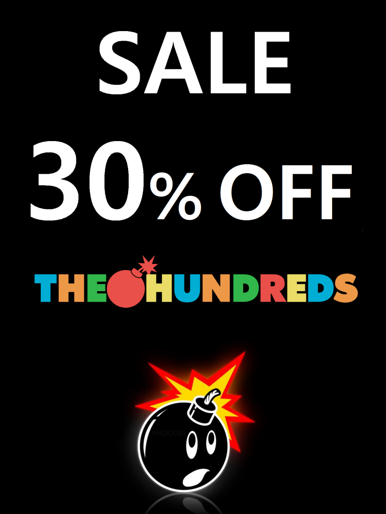 THE HUNDREDS SALE BLACK
